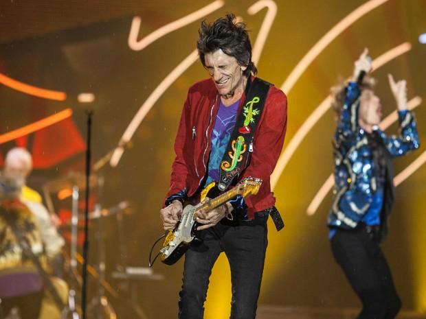 Rolling Stones em São Paulo (Foto: Marcelo Brandt / G1)