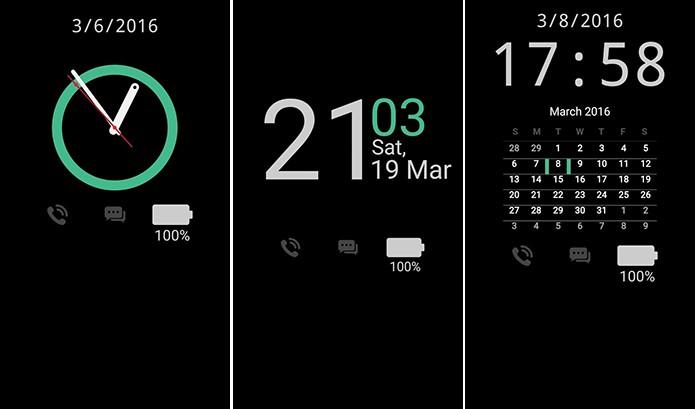Always On Display from S7 G5 adiciona tela sempre ativa do Galaxy S7 (Foto: Reprodução/Elson de Souza)