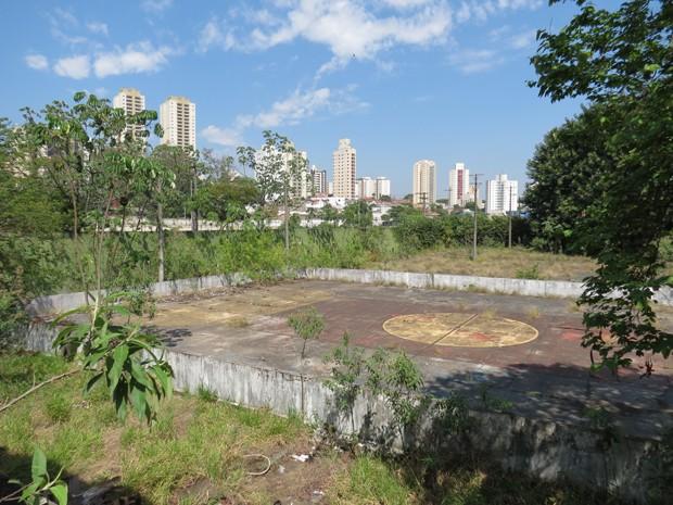 Área antes frequentada por funcionários da Varig (Foto: Divulgação/Prefeitura de São Paulo)