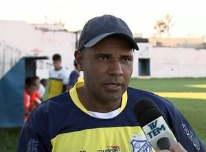 Ney Silva, técnico, Olímpia (Foto: Reprodução / TV TEM)