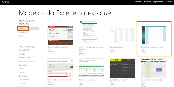 5bbc7e75bc49e Escolha o template que preferir baixar para Excel (Foto  Reprodução Barbara  Mannara)