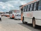 Operação retém ônibus de transporte público em Bayeux, na Paraíba