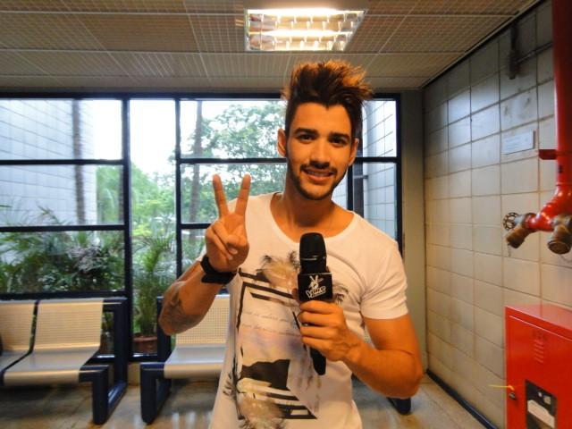 Gusttavo Lima - The Voice (Foto: The Voice Brasil/TV Globo)