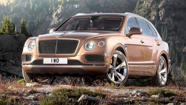 Bentley Bentayga  (Foto: Divulgação)
