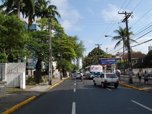 Avenida Rosa e Silva será monitorada (Foto: Vanessa Bahé / G1)