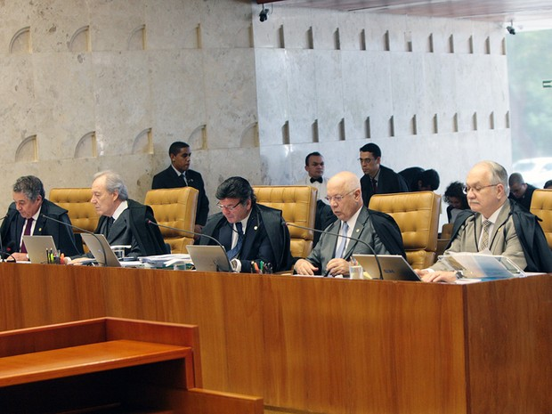 Os ministros do STF interromperam nesta quarta julgamento que discute a liberação por parte da administração pública de medicamentos não fornecidos pelo SUS (Foto: Carlos Humberto / STF)