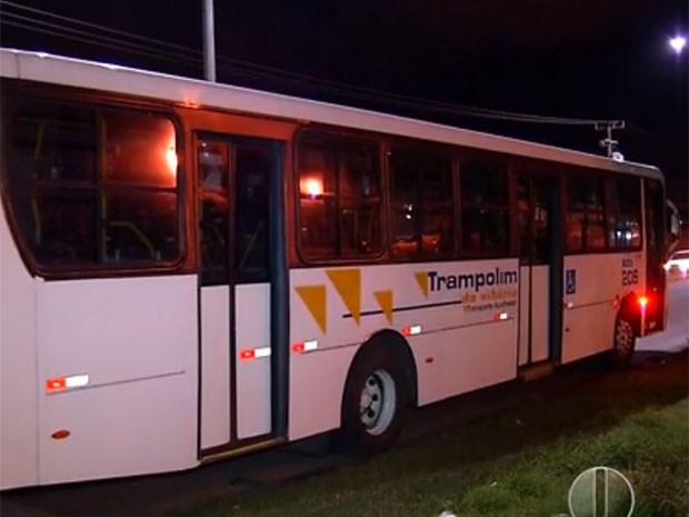 Assaltos aconteceram na noite desta terça (7) (Foto: Reprodução/Inter TV Cabugi)