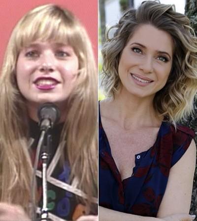 Letícia Spiller em 1989 e em 2015! (Foto: TV Globo e Fábio Rocha / Gshow)