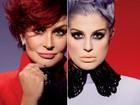 Sharon e Kelly Osbourne vão assinar linha de maquiagens