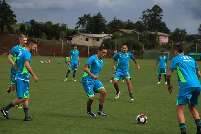 Chapecoense início de treinamentos (Foto: Sirli Freitas/Chapecoense )