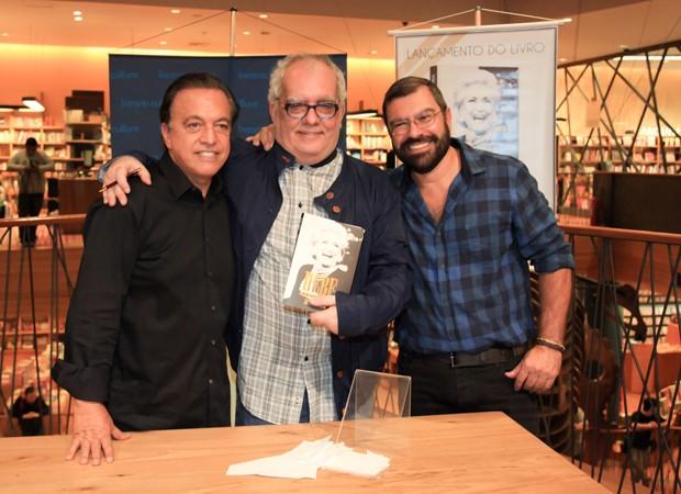 Cláudio Pessutti, Artur Xexéo e Marcello Camargo (Foto: Marcos Ribas/Brazil News)