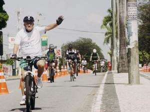 Ciclofaixa João Pessoa (Foto: Dayse Euzebio/Secom-JP)