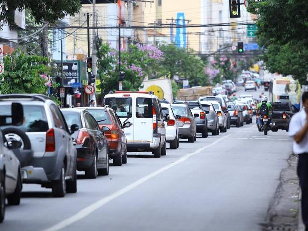 Frota de veículos em Divinópolis aumentou 2,5% (Foto: Christyan de Lima/Divulgação)
