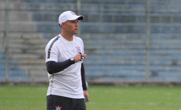 Caco Espinoza e Coelho, Corinthians sub-20 (Foto: Divulgação)