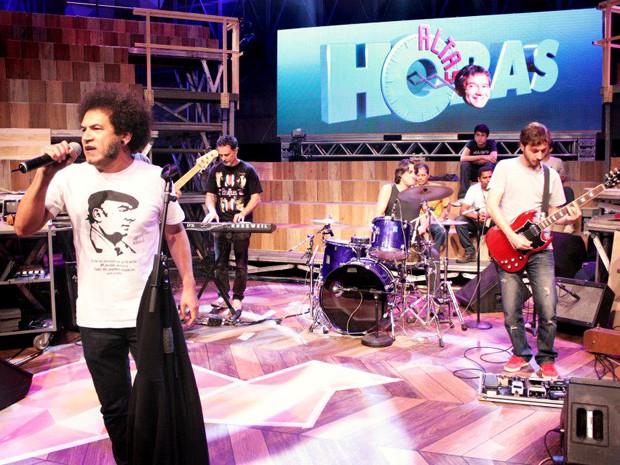 Músico se apresentou no programa Altas Horas (Foto: Divulgação)