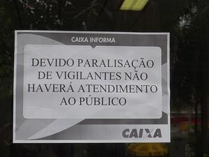 greve (Foto: Naiá Braga/G1)