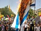 Centenas de milhares de iranianos marcham em protesto contra Israel