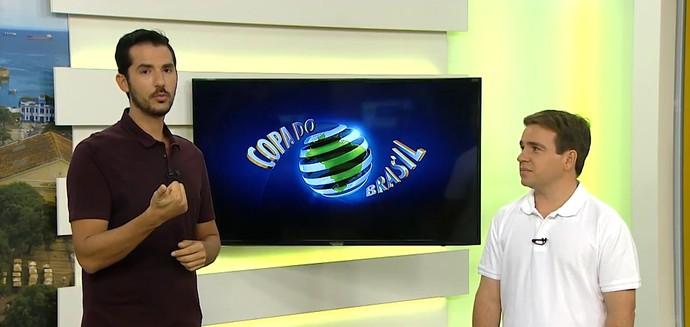 Gustavo Castellucci; Danilo Ribeiro (Foto: Reprodução)