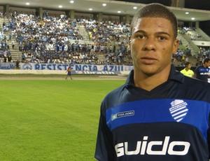 Robério é uma das esperanças do torcedor azulino (Foto: Caio Lorena / Globoesporte.com)
