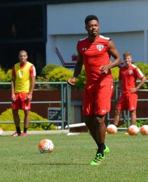 Michel Bastos São Paulo (Foto: Ana Luiza Rosa / site oficial do São Paulo FC)