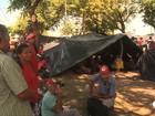 Integrantes de movimentos sociais ocupam sede do TCU em Alagoas