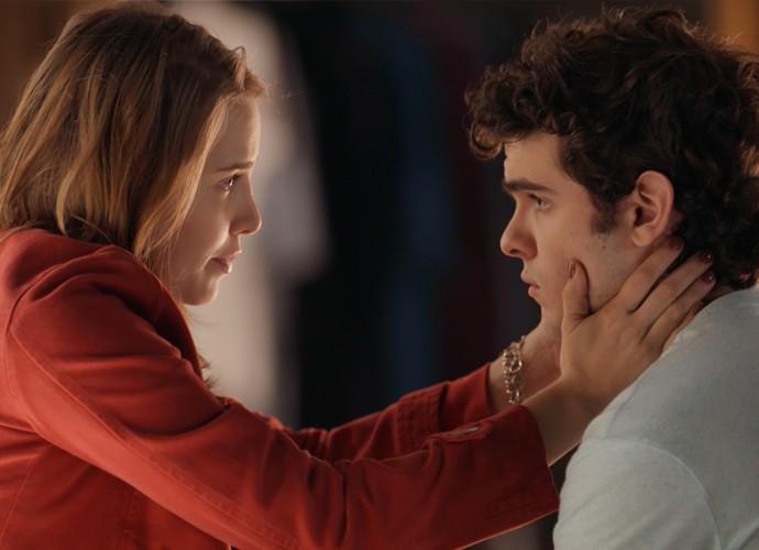 Elisa diz que os dois estão em pontos diferentes da vida (Foto: TV Globo)