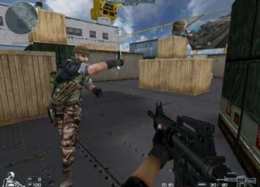 screenshot de Cross Fire