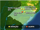 Baixa umidade do ar deixa cidades do RS em estado de atenção
