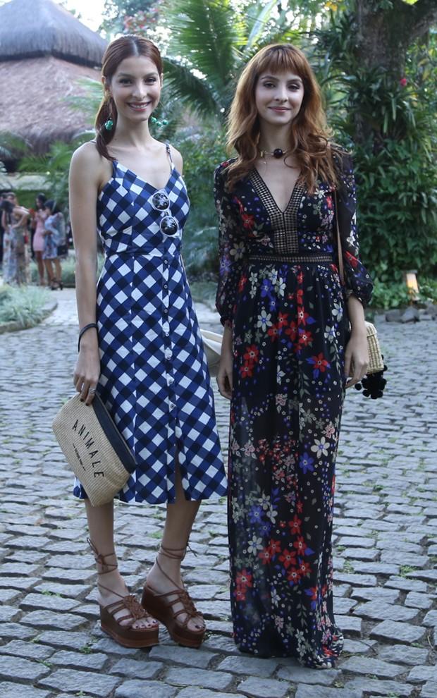 Giselle e Michelle Batista (Foto: Anderson Borde / AgNews)