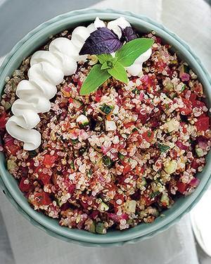 Tabule de quinoa (Foto: Rogério Voltan/Casa e Comida)