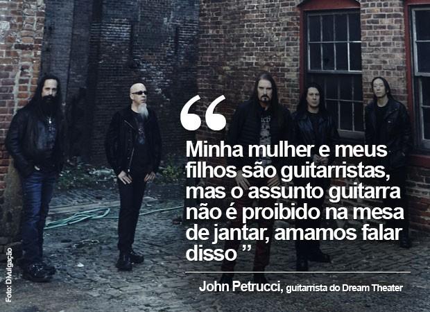 John Petrucci, guitarrista do Dream Theater, fala ao G1 (Foto: Divulgação)