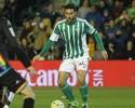 Leandro Damião estreia pelo Betis  no empate com o Rayo Vallecano