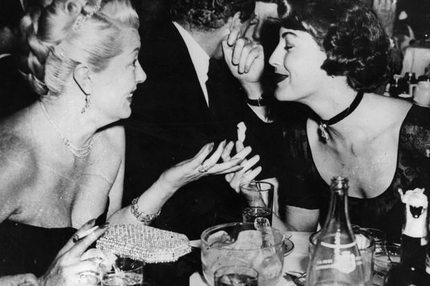 Lana Turner e Ava Gardner (Foto: Getty Images)