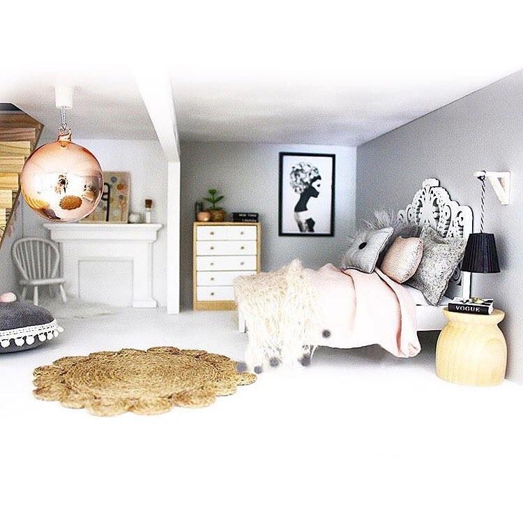 E esse quarto?  (Foto: Reprodução Instagram @whimsy_woods)