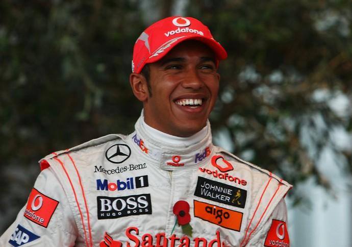 Lewis Hamilton conquistou seu primeiro título na F-1 em 2008, com a McLaren (Foto: Getty Images)