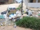 Sem coleta, moradores de Laranjal do Jari, no AP, reclamam de lixo nas ruas