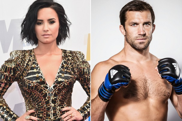 Demi Lovato e Luke Rockhold (Foto: Getty Images)