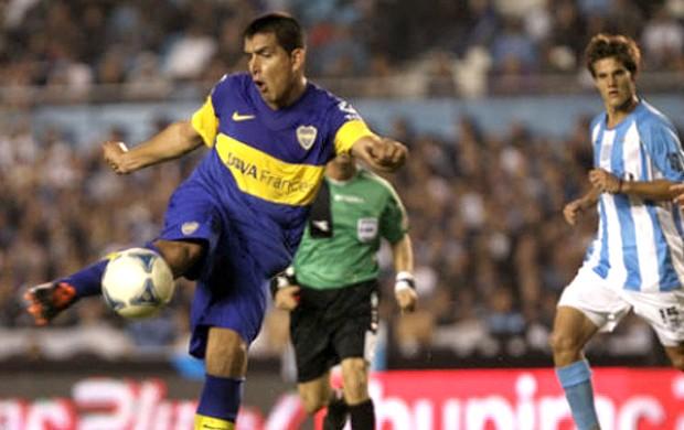 Viatri gol Boca Juniors (Foto: La Nación)