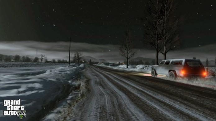 Bug permite acessar o mapa de North Yankton no modo online de GTA V (Foto:  Divulgação)