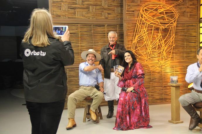 Edson Casagrande Galpão Crioulo (Foto: Divulgação/RBS TV)