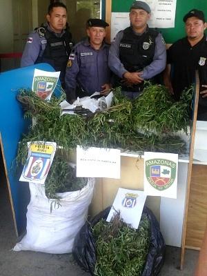 Material havia sido colhido recentemente, diz CPI (Foto: Divulgação/CPI)