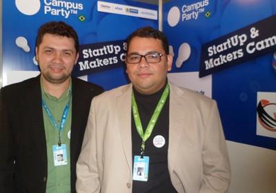 Os criadores do Orçafasçio (Foto: Elis Martins)