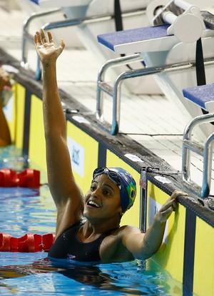 Etiene Medeiros ouro pan-americano (Foto: Al Bello/Getty Images)