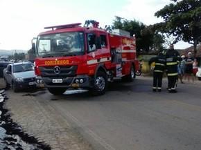 Acidente deixa um morto e uma ferida em estrada paraibana (Foto: Volney Andrade / TV Paraíba)