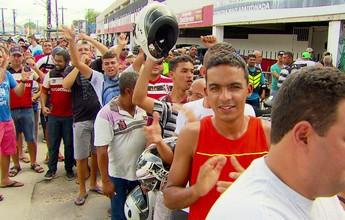 Fila de ingressos lotada no Arruda vira motivação para jogadores do Santa