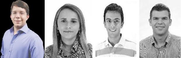 Prefeitos eleitos mais novos (Foto: Divulgação/montagem)