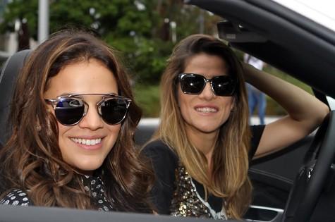 Bruna Marquezine e Ingrid Guimarães (Foto: Duarte Roriz )