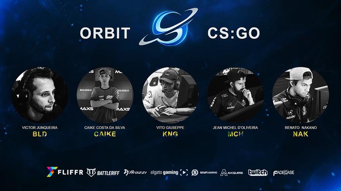 Orbit. CS:GO (Foto: Divulgação/Orbit Esports)