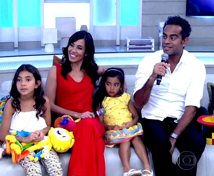 Tania e Jairzinho têm projeto especialmente dedicado às crianças (Foto: Globo)