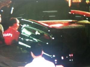 Warmillon Braga chega para depor na Polícia Federal  (Foto: Reprodução / Inter TV)